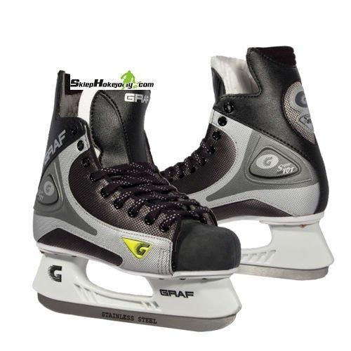 Łyżwy hokejowe GRAF SUPER 101 SENIOR ( Duże rozmiary)